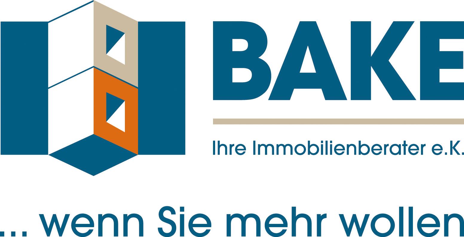 Hier sehen Sie das Logo von BAKE Ihre Immobilienberater e.K.