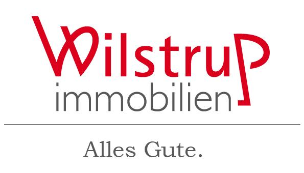 Hier sehen Sie das Logo von Wilstrup Immobilien