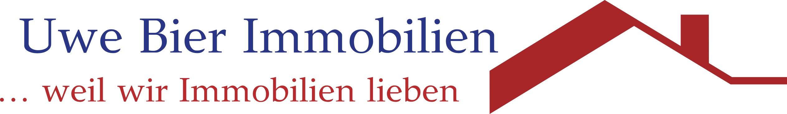 Hier sehen Sie das Logo von Uwe Bier Immobilien