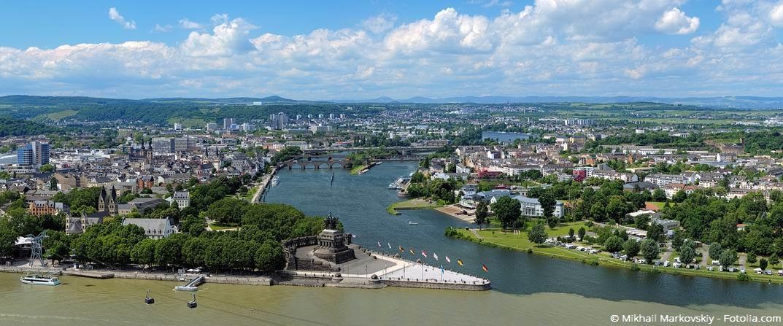 Koblenz - die Stadt an Rhein und Mosel