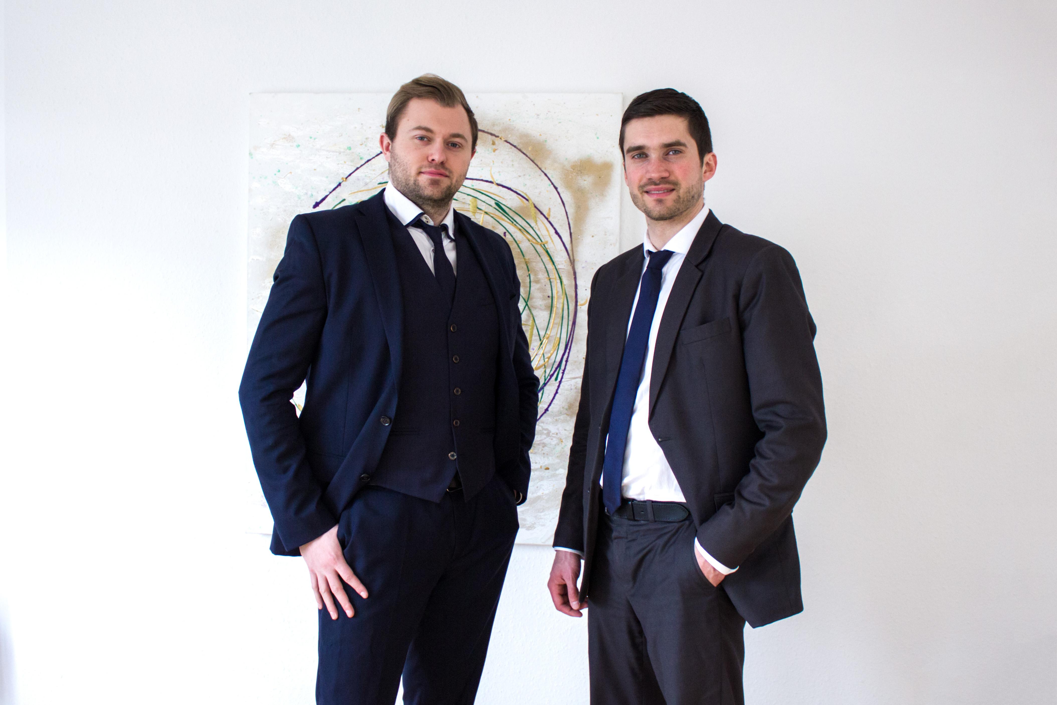 Vincent Schuller und Markus Dohr