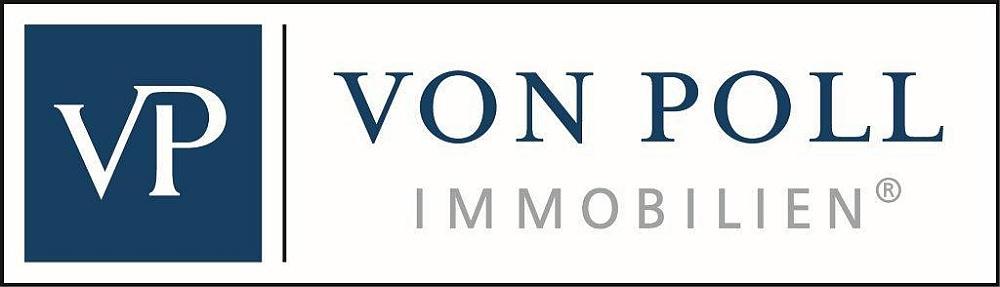 Hier sehen Sie das Logo von VON POLL IMMOBILIEN Augsburg