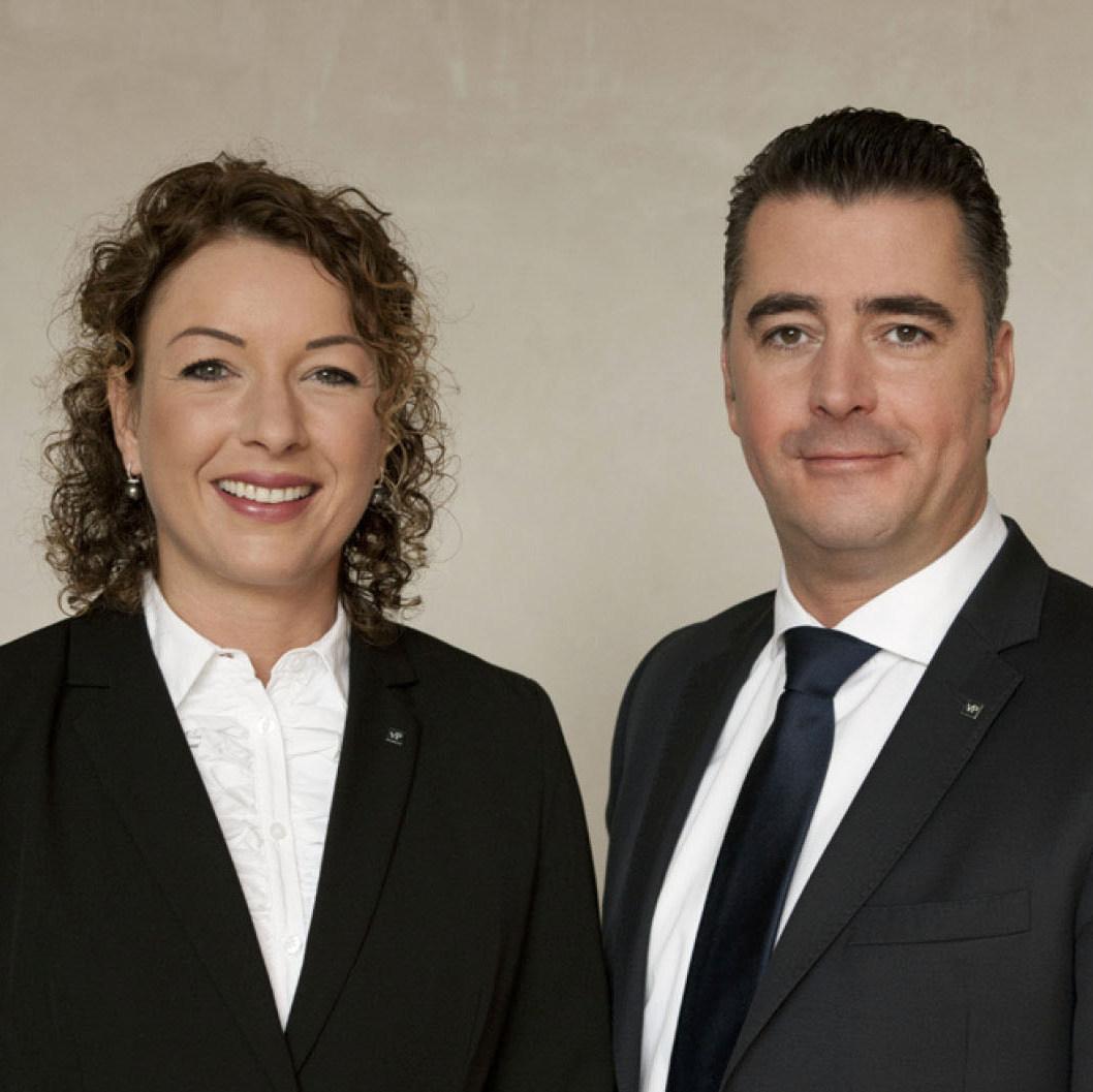 Marius Grumbt und Claudia Brakonier - VON POLL IMMOBILIEN Düsseldorf