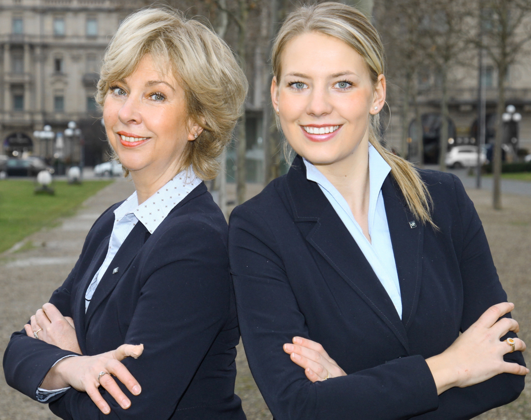 Kim Schlaak und Gabriele Wilde-Schlaak - VON POLL IMMOBILIEN Mainz