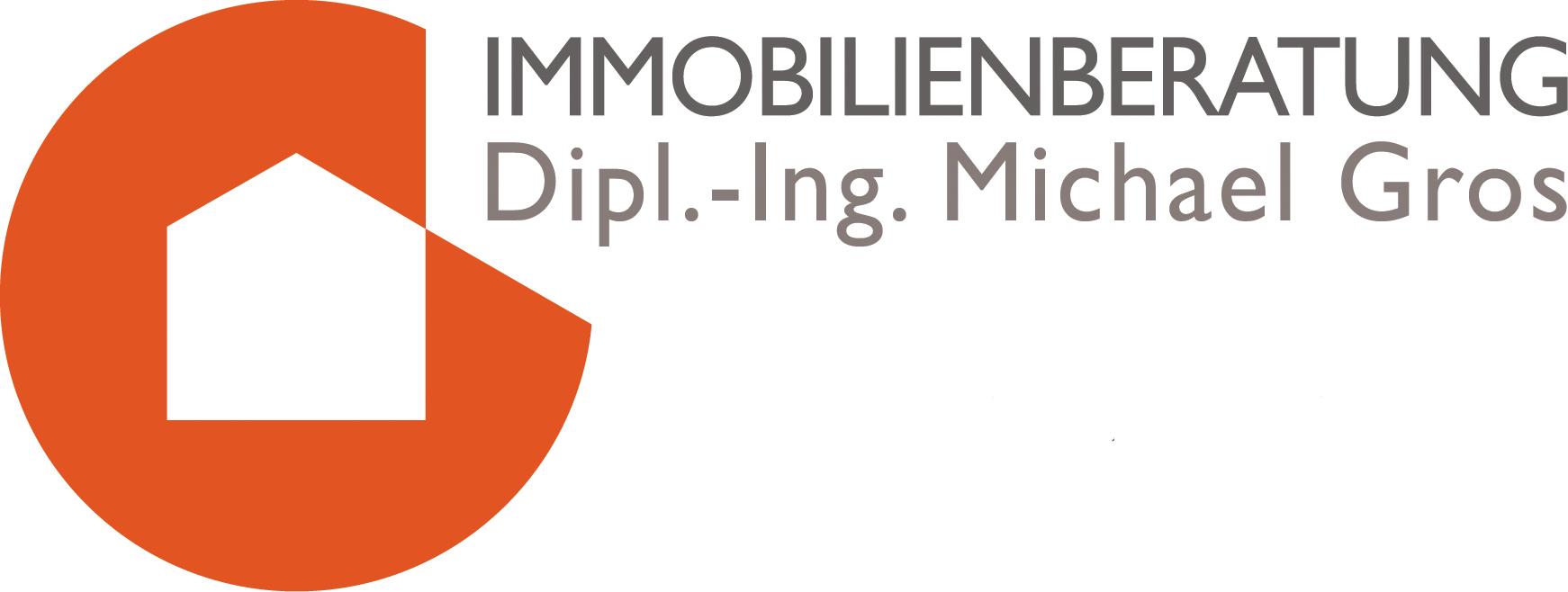 Hier sehen Sie das Logo von IMMOBILIENBERATUNG Dipl.-Ing. Michael Gros