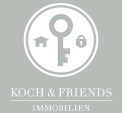 Hier sehen Sie das Logo von KOCH & FRIENDS IMMOBILIEN