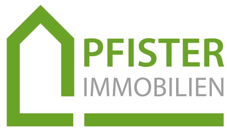 Hier sehen Sie das Logo von PFISTER IMMOBILIEN