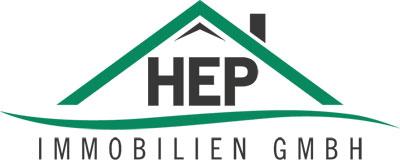Hier sehen Sie das Logo von HEP Immobilien GmbH