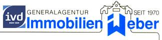 Hier sehen Sie das Logo von Firma Immobilien-Weber-IVD