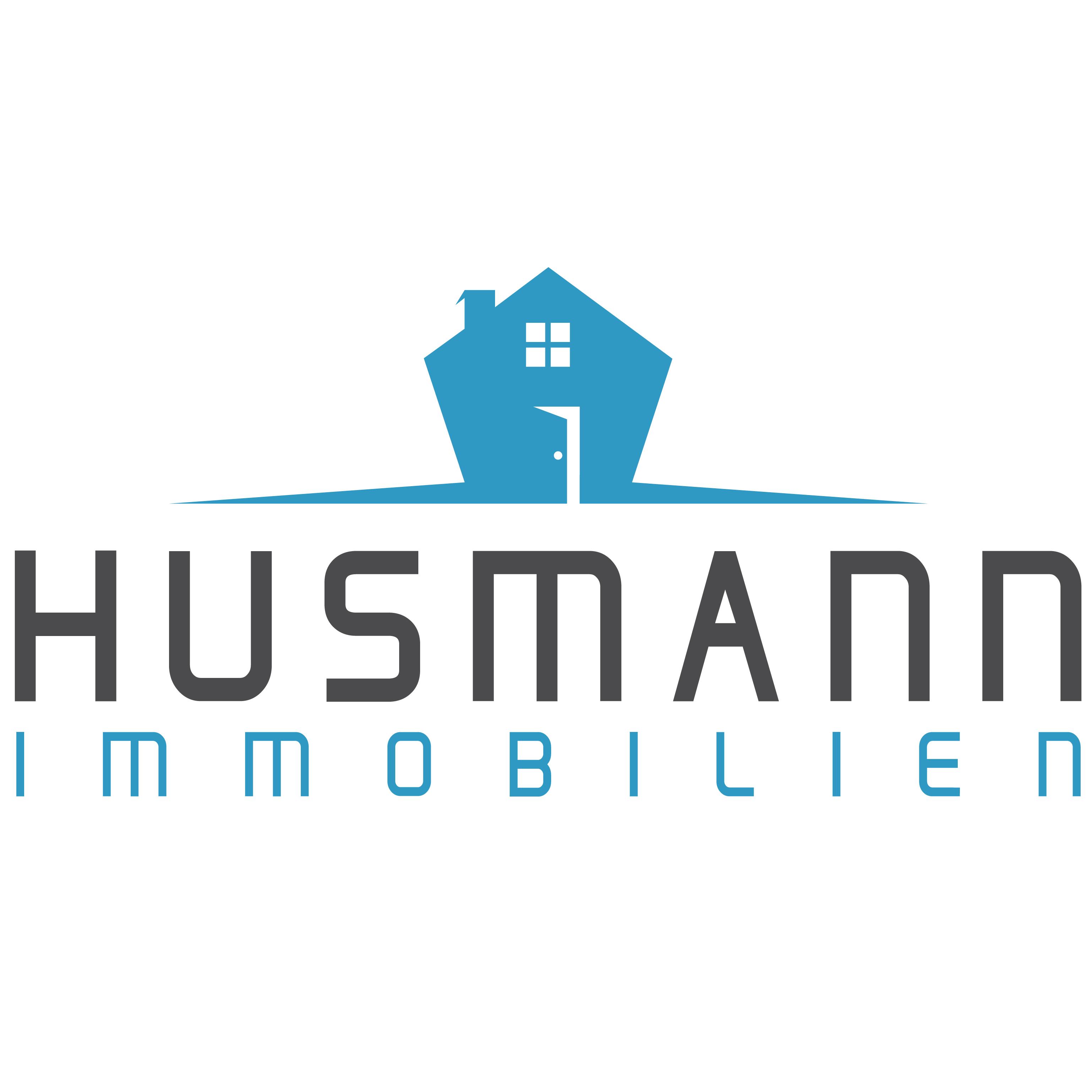 Hier sehen Sie das Logo von Husmann Immobilien