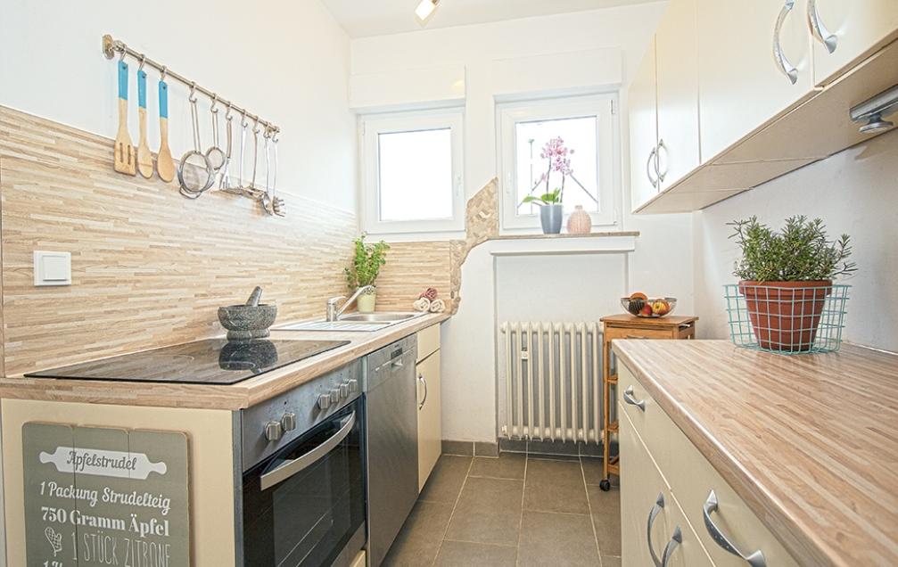 Auch kleine Küchen können glänzen!