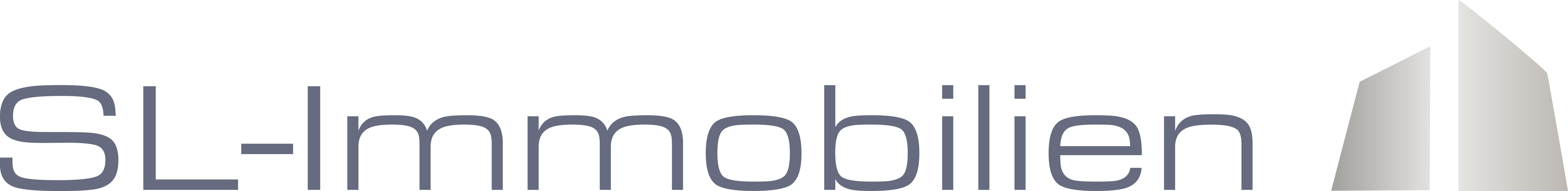 Hier sehen Sie das Logo von SL-Immobilien