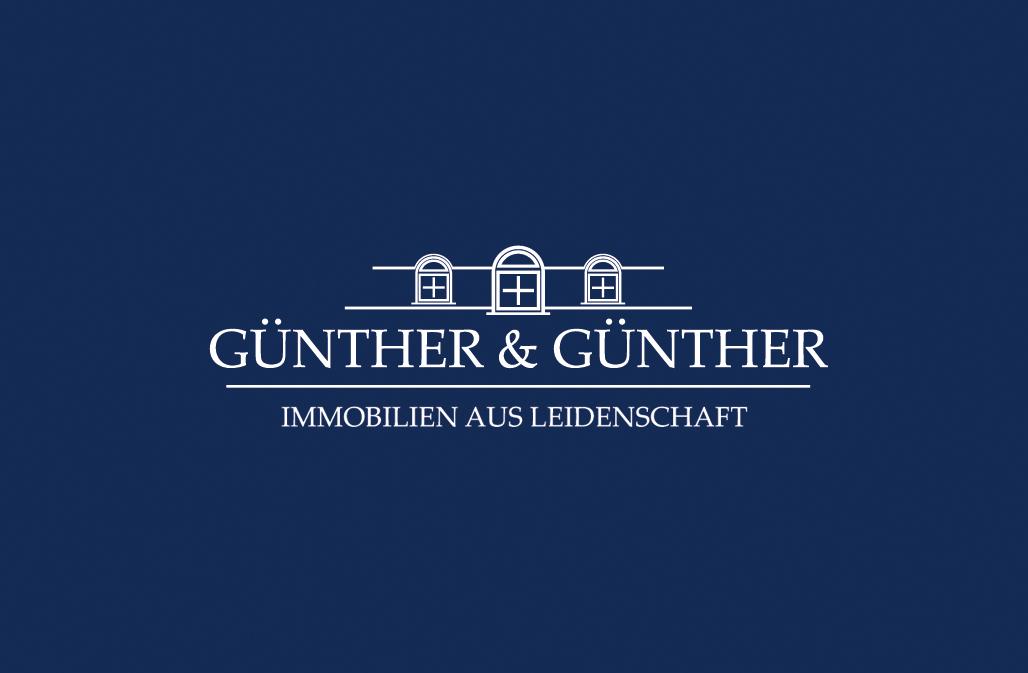 Hier sehen Sie das Logo von Günther & Günther Immobilien