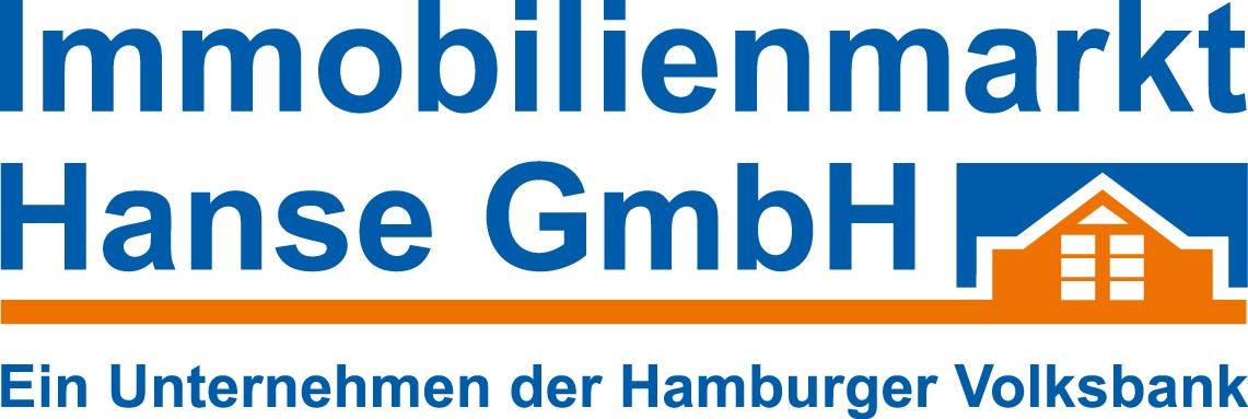 Hier sehen Sie das Logo von Immobilienmarkt Hanse GmbH, c/o Hamburger Volksbank