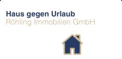 Hier sehen Sie das Logo von Haus gegen Urlaub ( Röhling Immobilien )