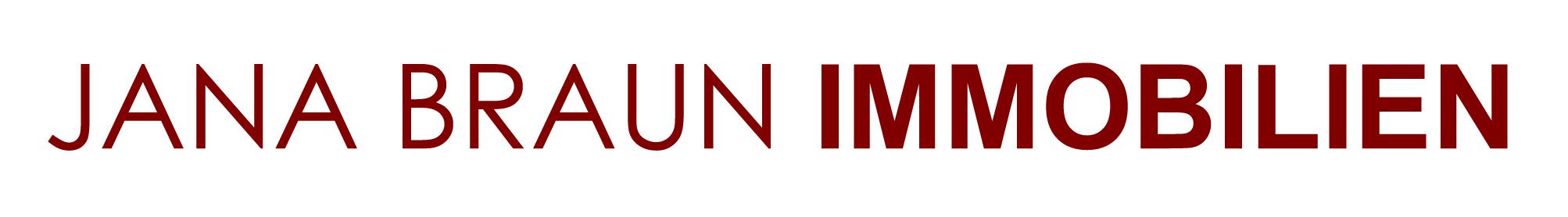 Hier sehen Sie das Logo von Jana Braun Immobilien