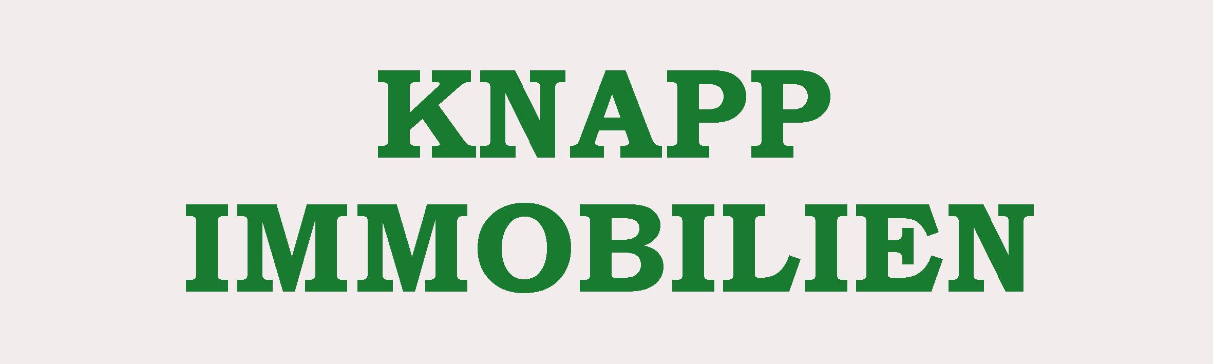 Hier sehen Sie das Logo von Knapp Immobilien