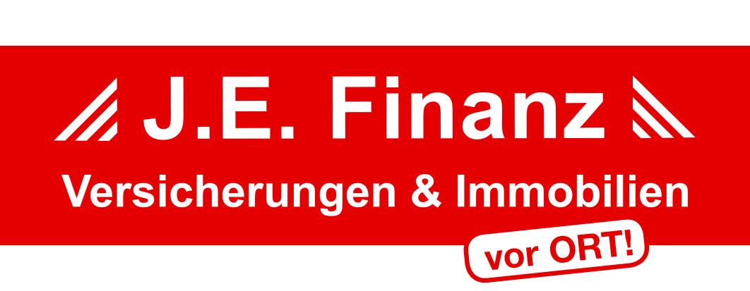 Hier sehen Sie das Logo von J.E. Finanz