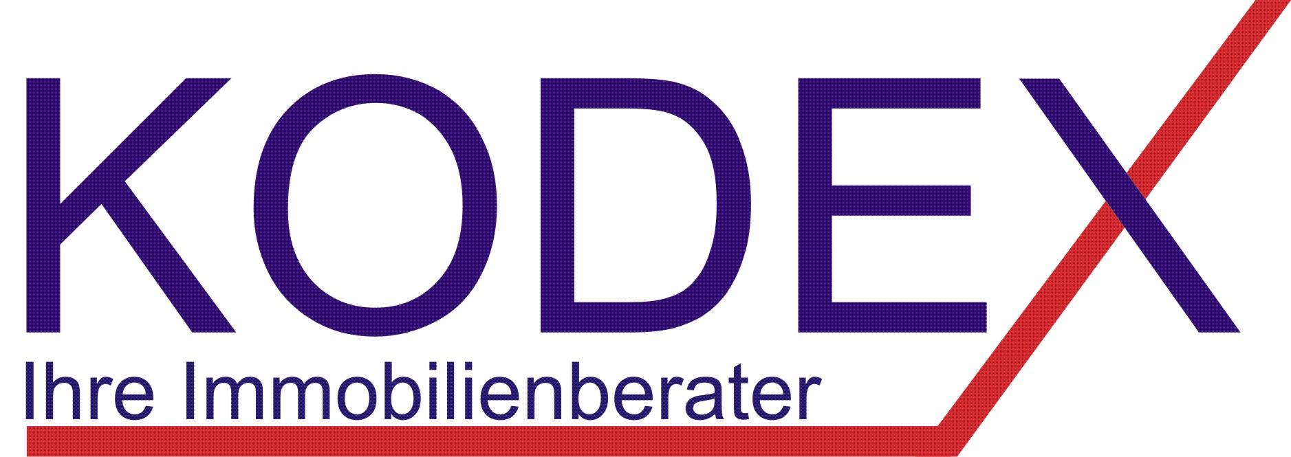 Hier sehen Sie das Logo von KODEX - Ihre Immobilienberater