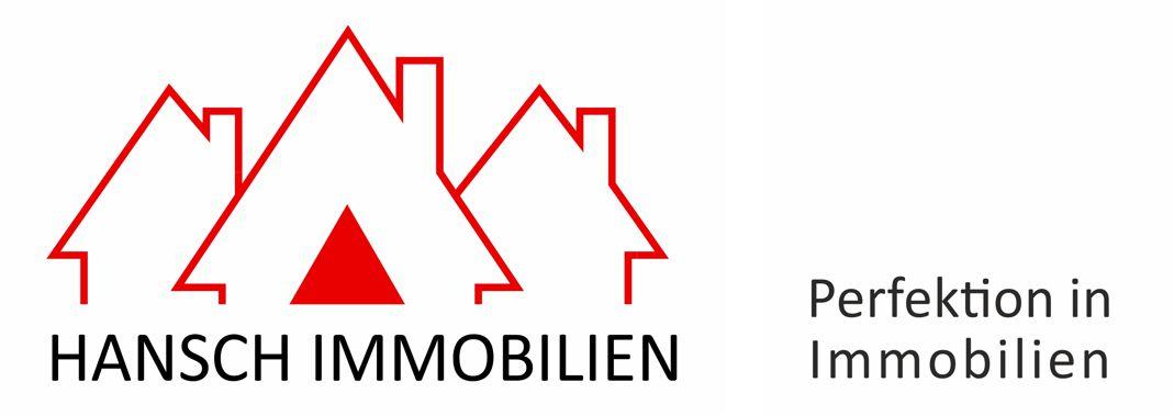 Hier sehen Sie das Logo von Hansch Immobilien IVD. Perfektion in Immobilien.