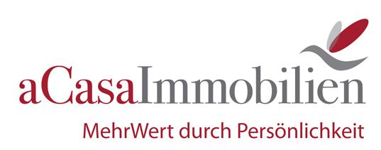 Hier sehen Sie das Logo von aCasaImmobilen Nicola Schäfer