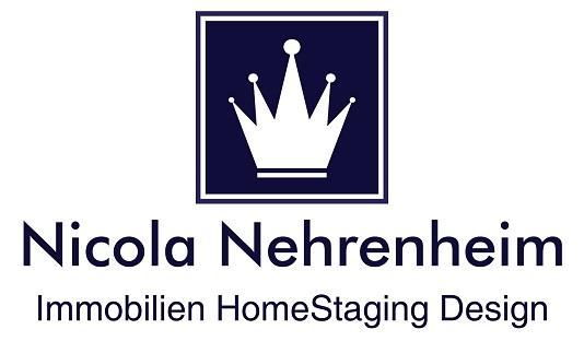 Hier sehen Sie das Logo von Nicola Nehrenheim Immobilien HomeStaging Design