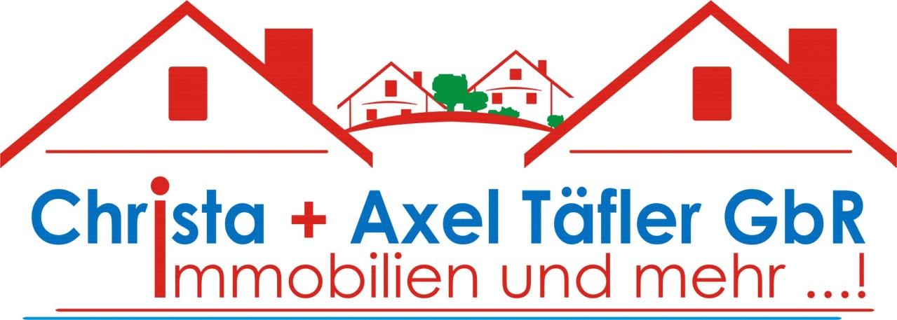 Hier sehen Sie das Logo von Christa + Axel Täfler GbR Immobilien und mehr ...!