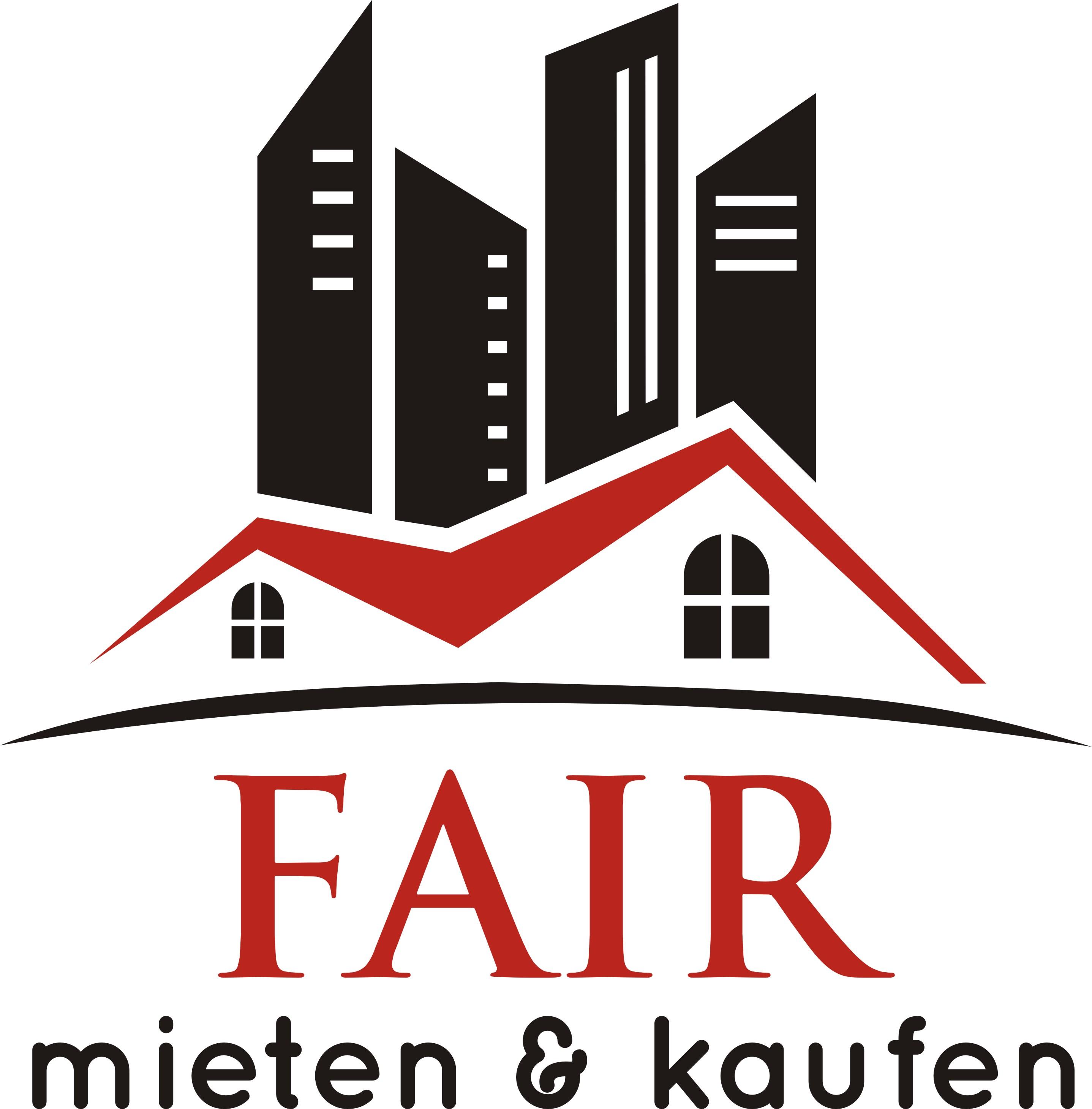 Hier sehen Sie das Logo von FAIR mieten & kaufen