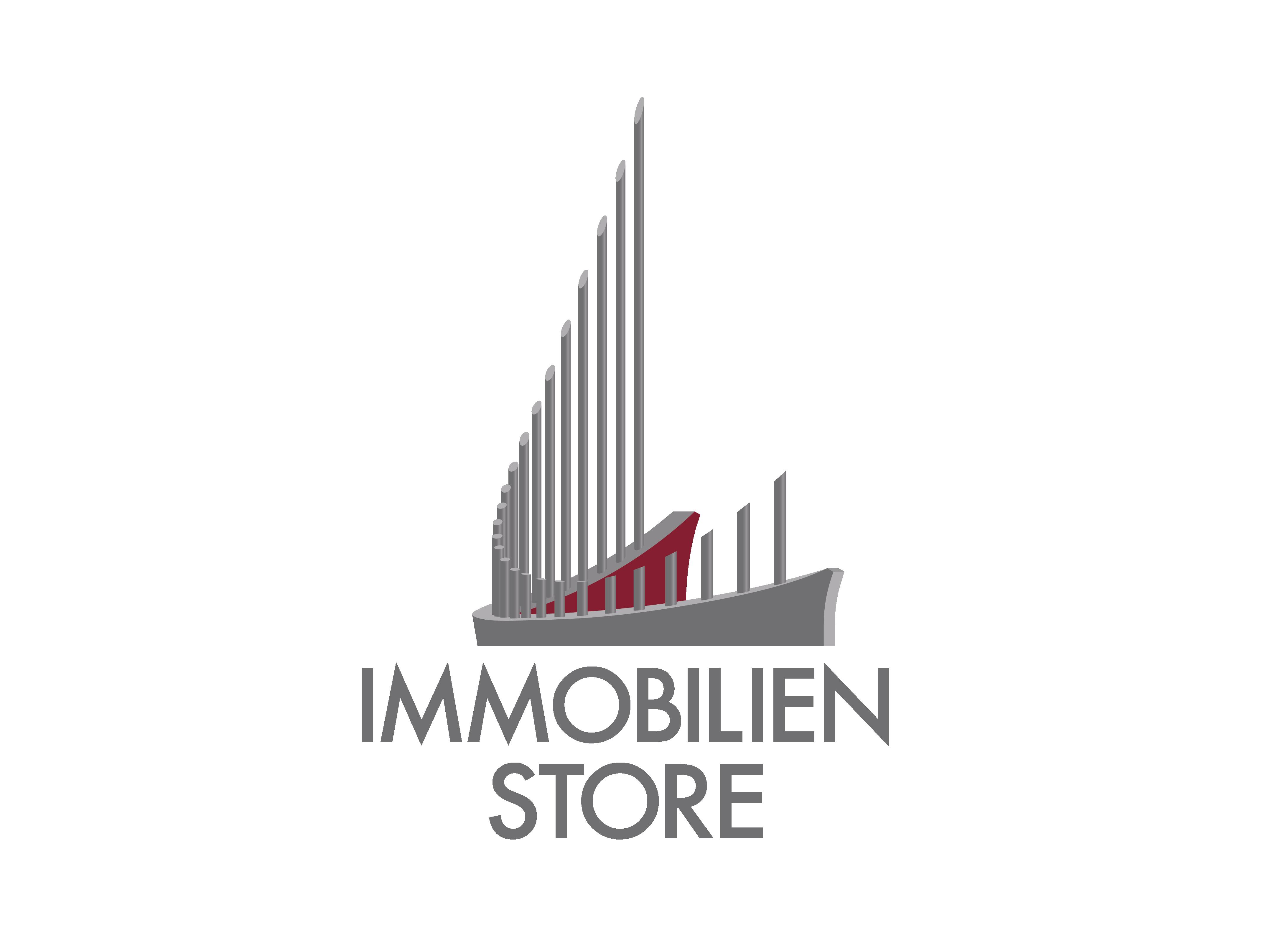 Hier sehen Sie das Logo von Immobilien Store