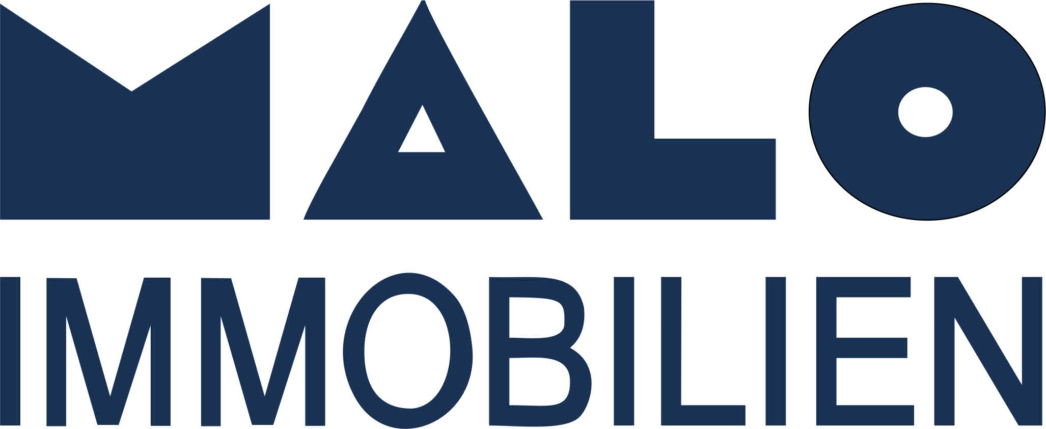 Hier sehen Sie das Logo von MALO Immobilien