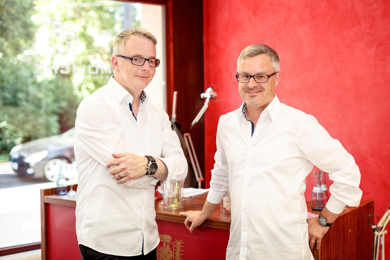 Hr. Frank Hegener und Hr. Werner Schmid