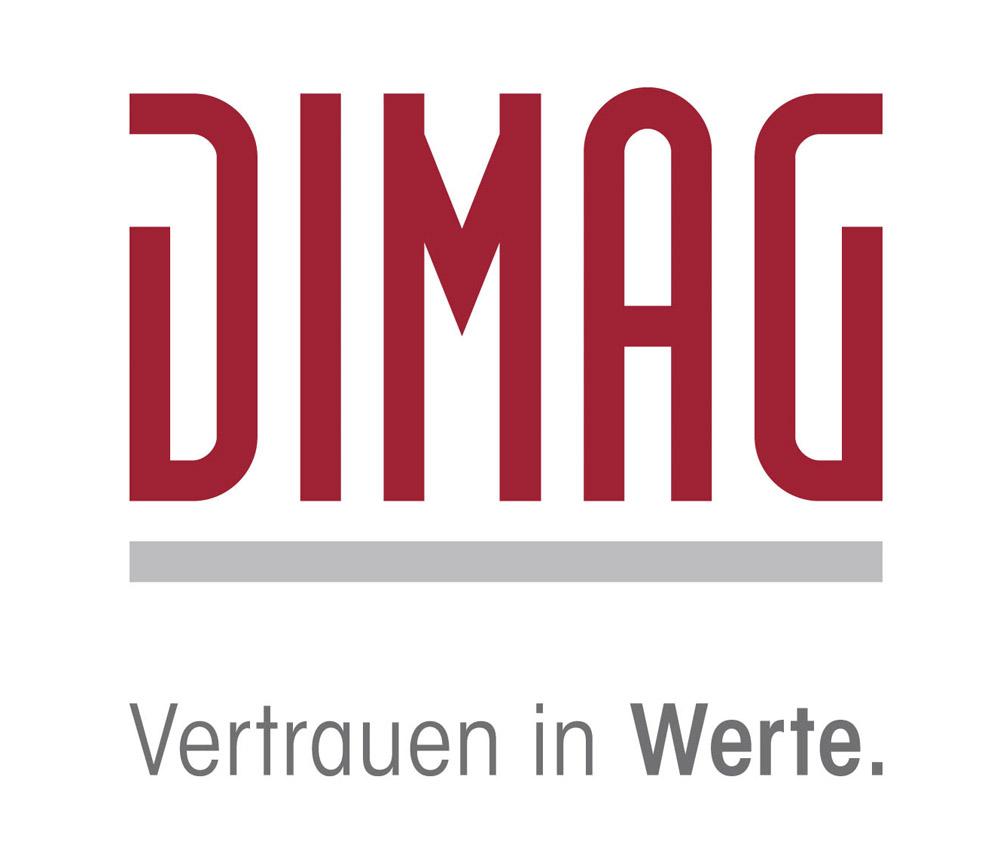 Hier sehen Sie das Logo von DIMAG Vermietungsgesellschaft mbH & Co.KG