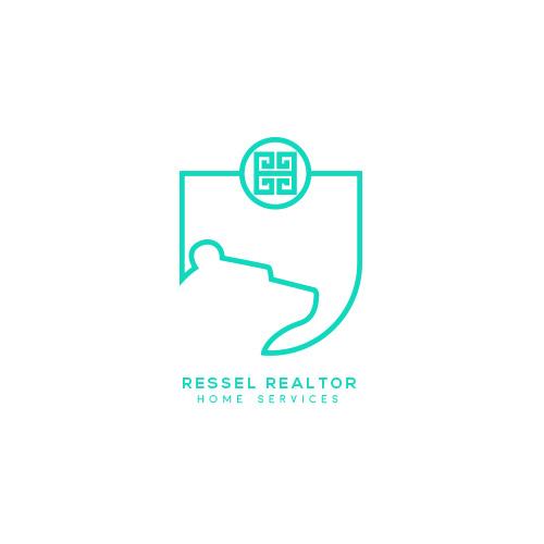 Hier sehen Sie das Logo von Ressel Realtor Home Services