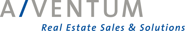 Hier sehen Sie das Logo von A/VENTUM Real Estate Sales & Solutions GmbH & Co. KG