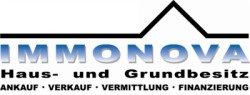 Hier sehen Sie das Logo von IMMONOVA Haus- und Grundbesitz