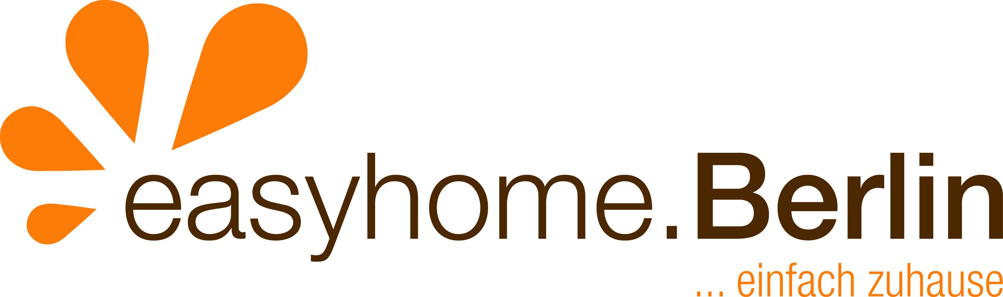 Hier sehen Sie das Logo von easyhome.Berlin