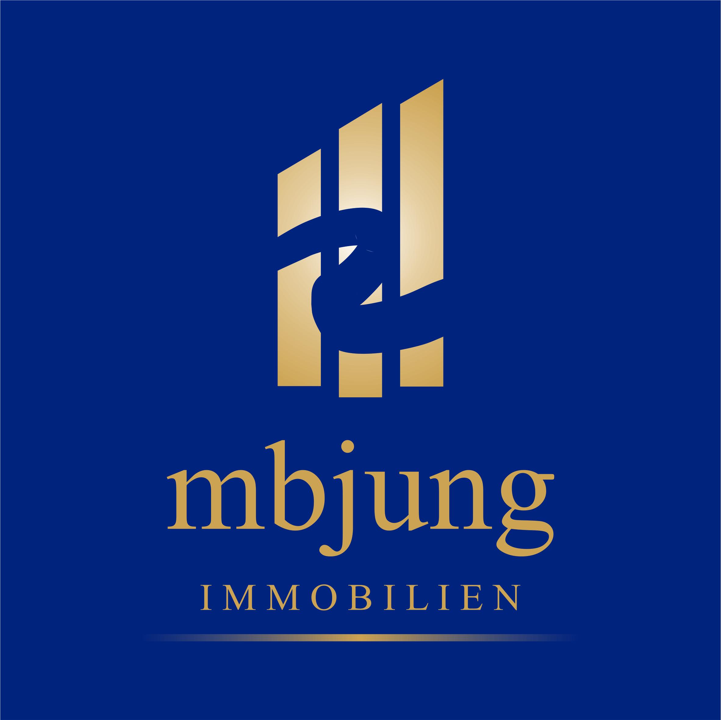 Hier sehen Sie das Logo von mbjung - Immobilien