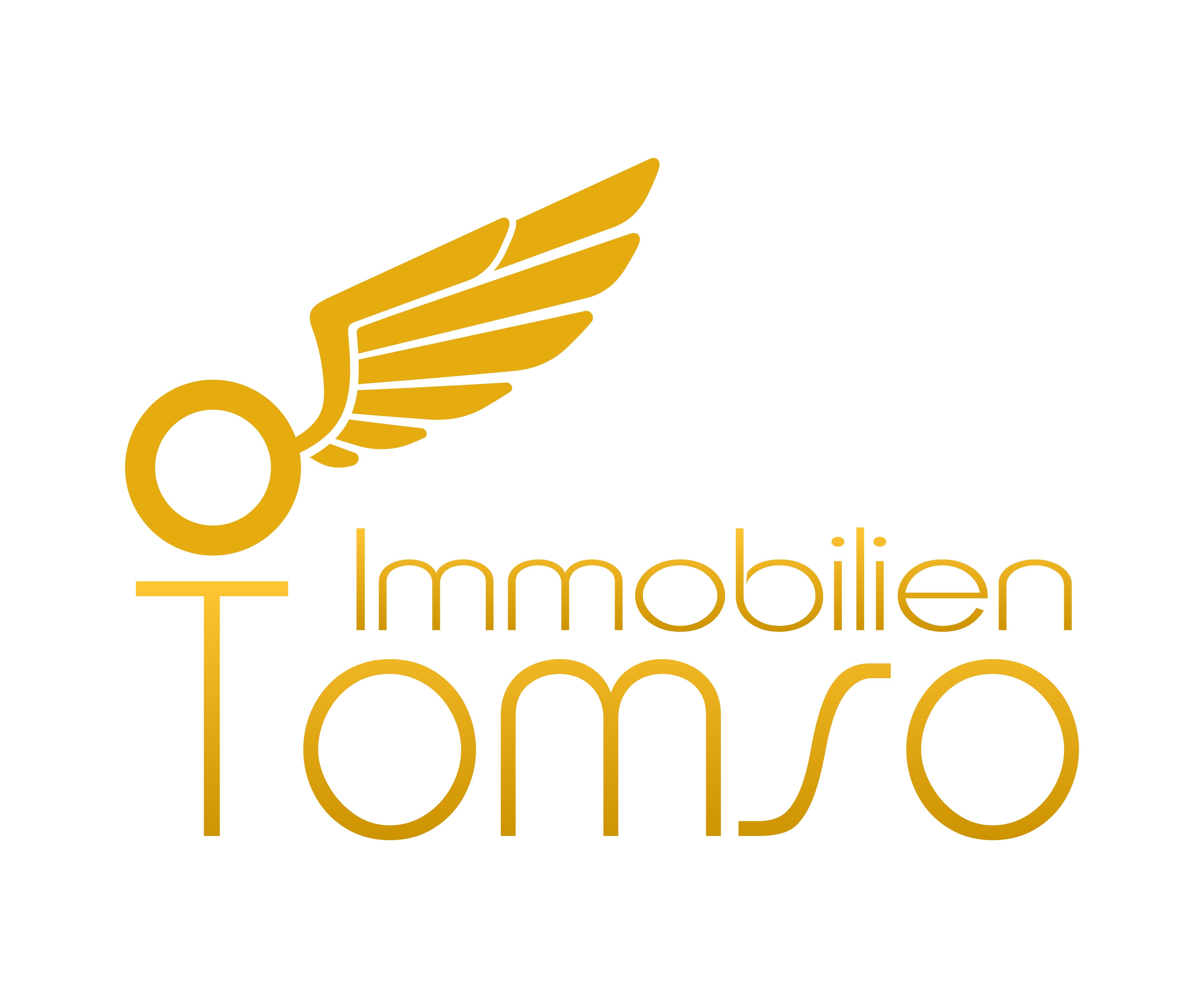 Hier sehen Sie das Logo von Tomso Immobilien