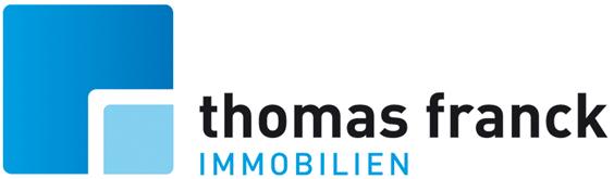 Hier sehen Sie das Logo von Thomas Franck Immobilien