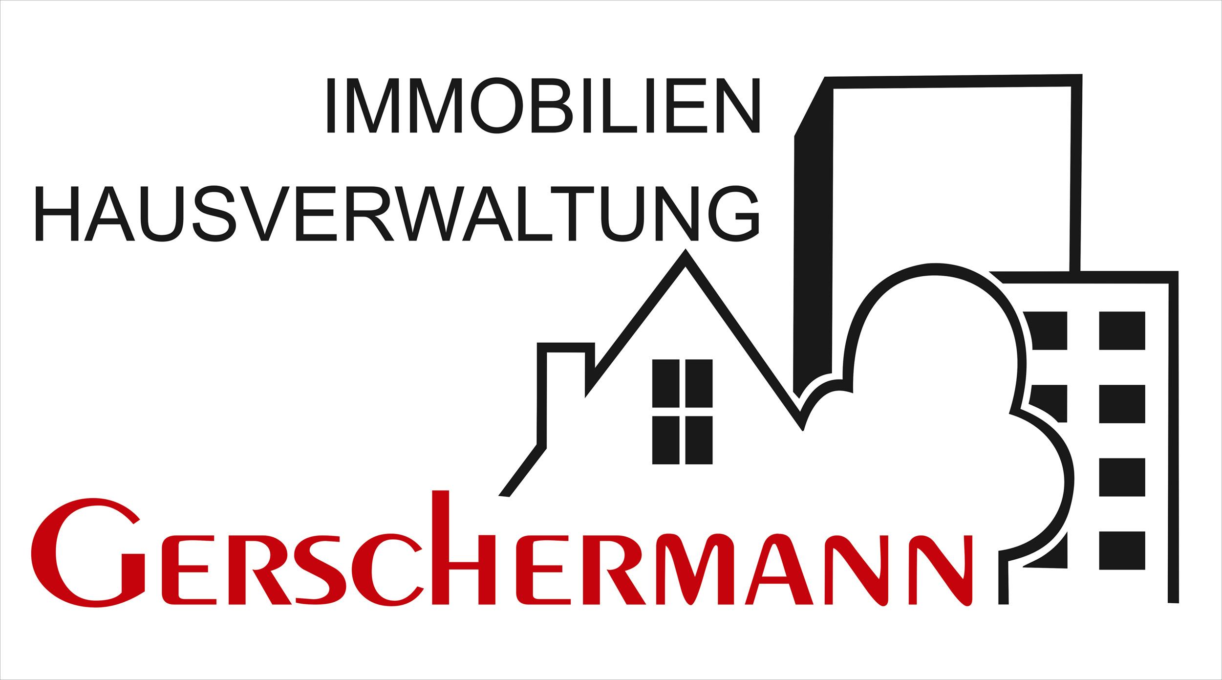 Hier sehen Sie das Logo von Gerschermann Immobilien seit 1979