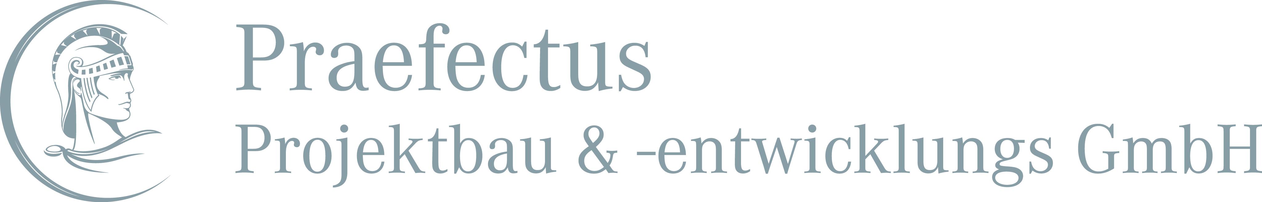 Hier sehen Sie das Logo von PRAEFECTUS Projektbau & -entwicklungs GmbH