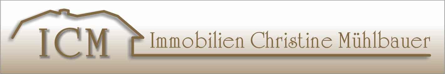 Hier sehen Sie das Logo von ICM- Immobilien- Mühlbauer