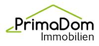 Hier sehen Sie das Logo von PrimaDom Immobilien Immobilien Vermietlung mit Ruhe und Vertrauen sowie Unterstützung bei Neubau