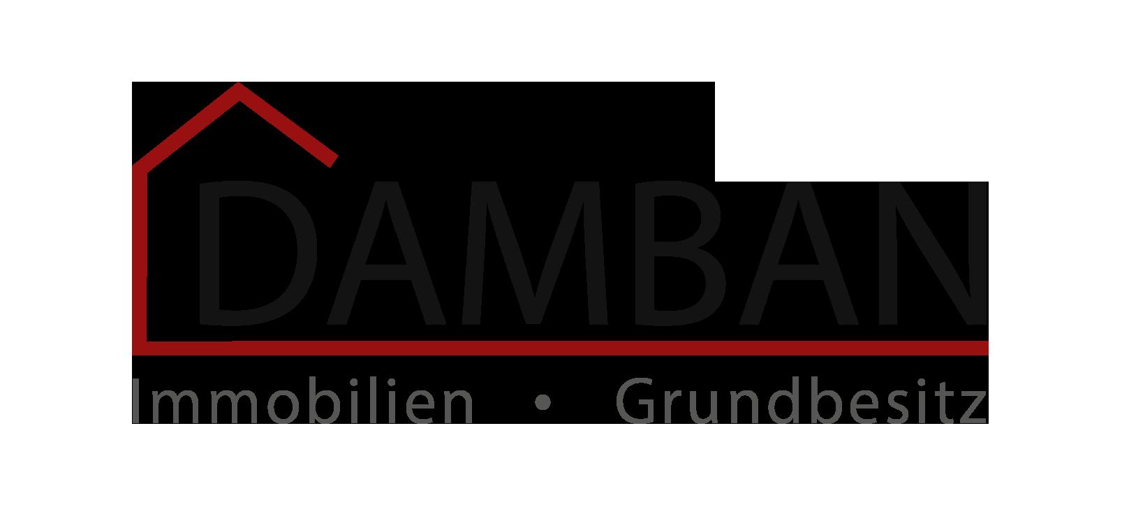 Hier sehen Sie das Logo von DAMBAN Immobilien & Grundbesitz