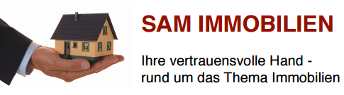 Hier sehen Sie das Logo von SAM Immobilien