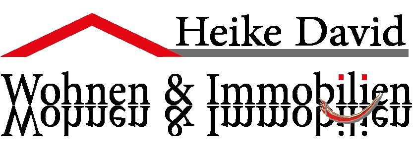 Hier sehen Sie das Logo von Heike David Immobilien - wohnen & immobilien