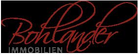 Hier sehen Sie das Logo von Bohlander Immobilien