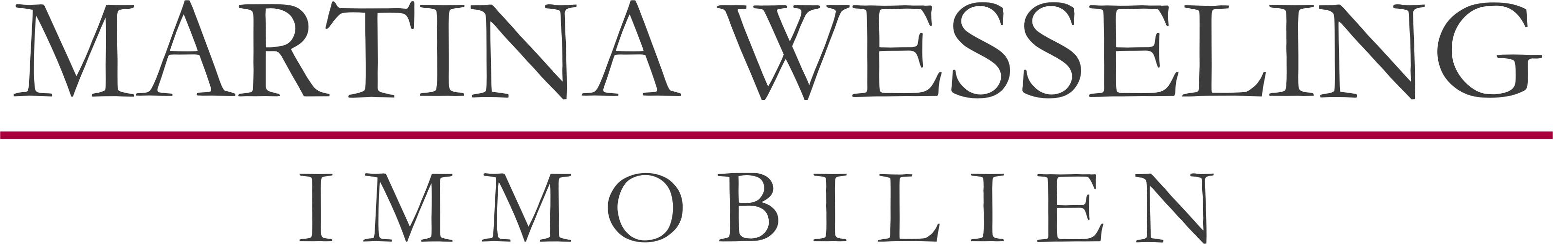 Hier sehen Sie das Logo von Martina Wesseling Immobilien