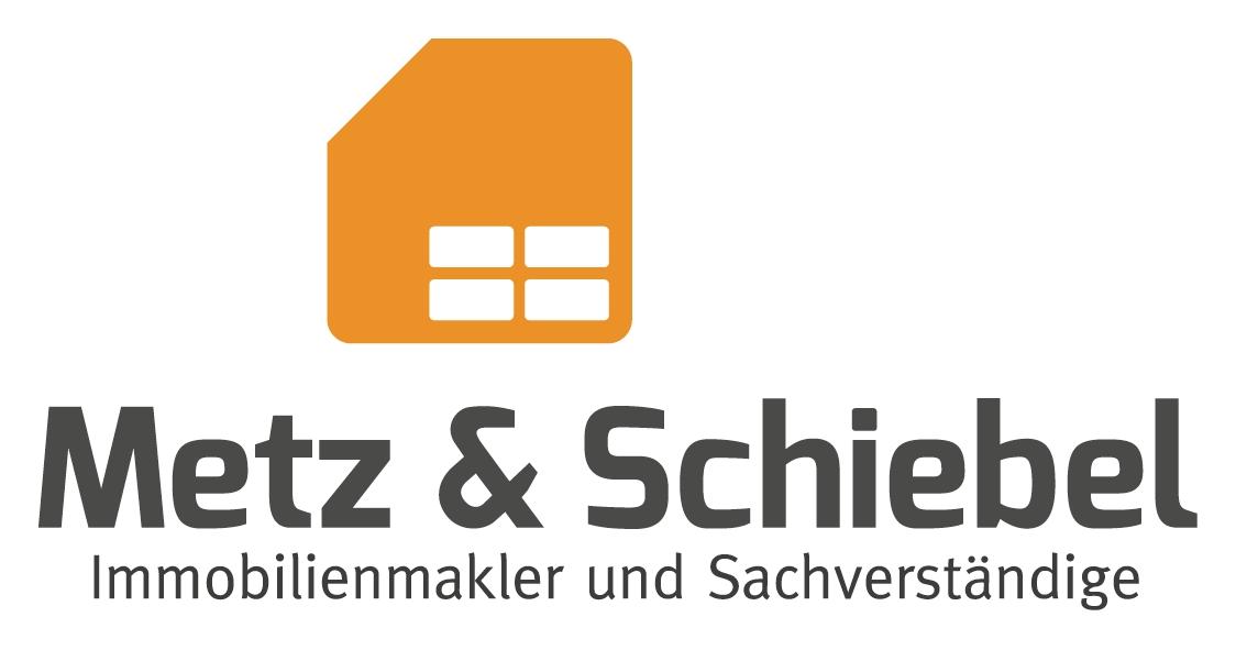 Hier sehen Sie das Logo von Metz & Schiebel Immobilkenmakler und Sachverständige