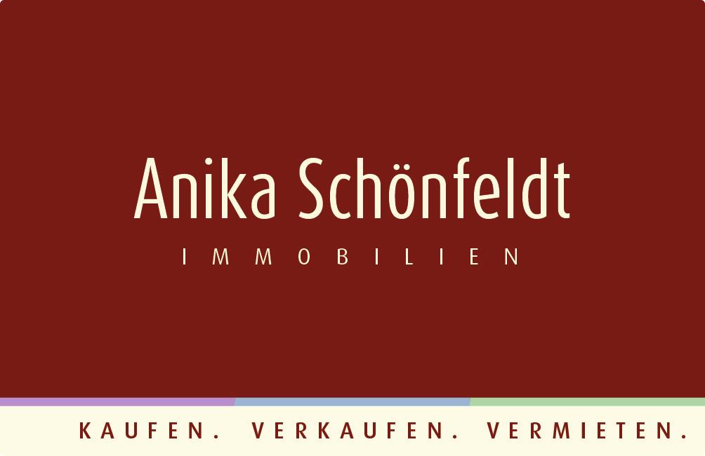 Hier sehen Sie das Logo von Anika Schönfeldt Immobilien
